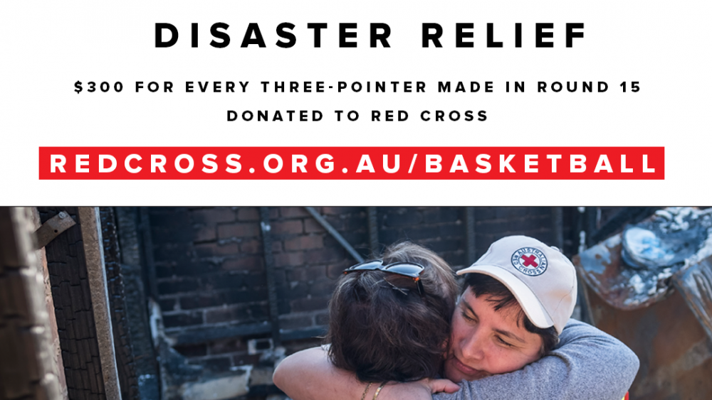300 for 3-pointers basketball bushfire relief